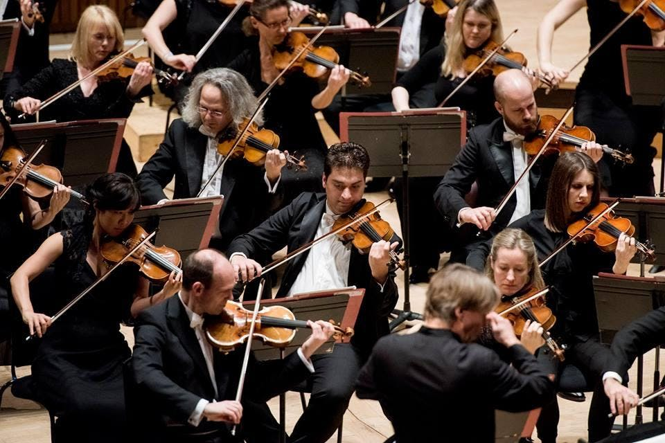 Philharmonia Orchestra charity concert - gynaecological cancer research Imperial College