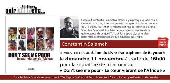 Dont see me poor de Constantin Salameh