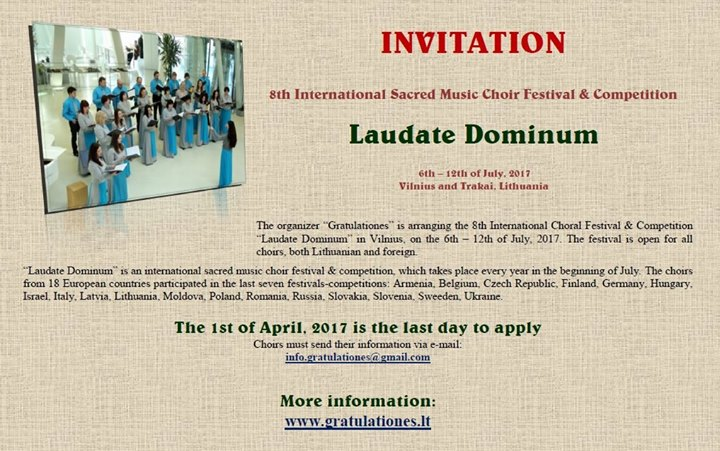 Choral Festival and Competition