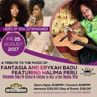 Ladies Of Soul Extravaganza Featuring Halima Peru Live Carlyle
