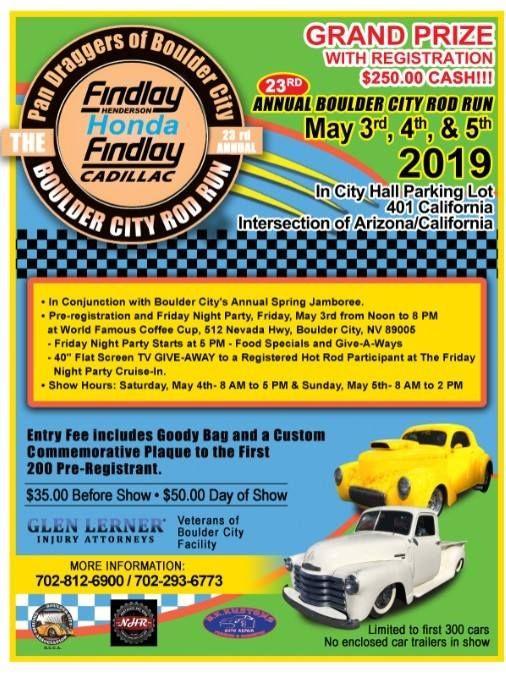 23rd Annual Boulder City Rod Run