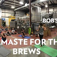 Namaste for the Brews BEER YOGA