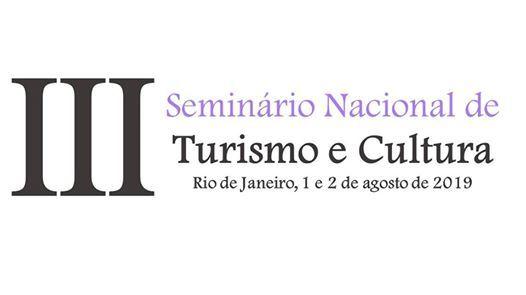 III Seminrio Nacional de Turismo e Cultura