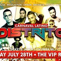 Distrito Carnaval Latino  Friday July 28th The Vip Room Rdam
