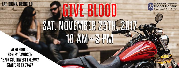 Blood Drive at Republic Harley Davidson