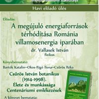 Vallasek Istvn A megjul energiaforrsok trhdtsa Romnia villamosenergia iparban