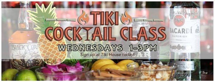 tiki craft cocktail class at tiki house key west florida