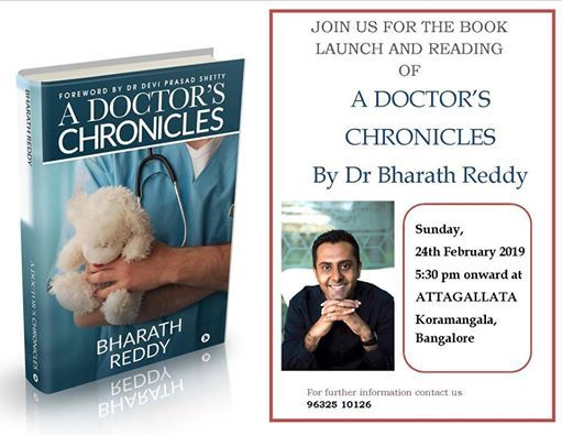 The launch of A Doctors Chronicles by the author