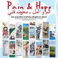 Vernissage de lexpo Pain&ampHope