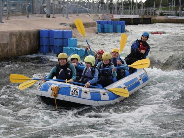 Kayaking & Canoeing at White Water Rafting Cardiff ...