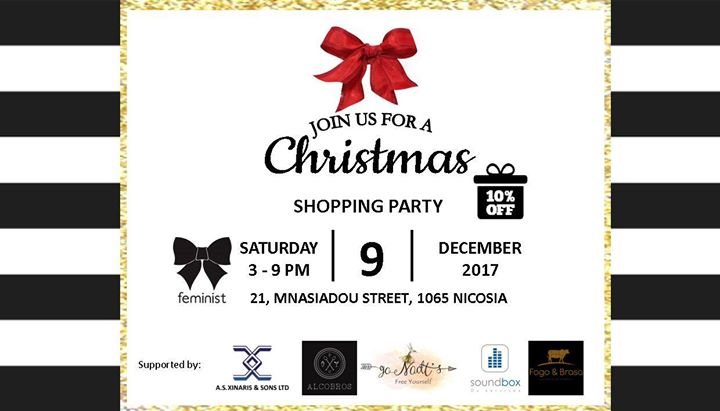 Feminist Boutique - Christmas Shopping Party