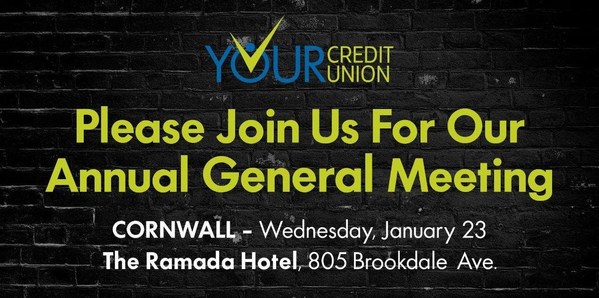Your Credit Union - Annual General Meeting