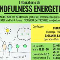 Presentazione Laboratorio di Mindfulness Energetica