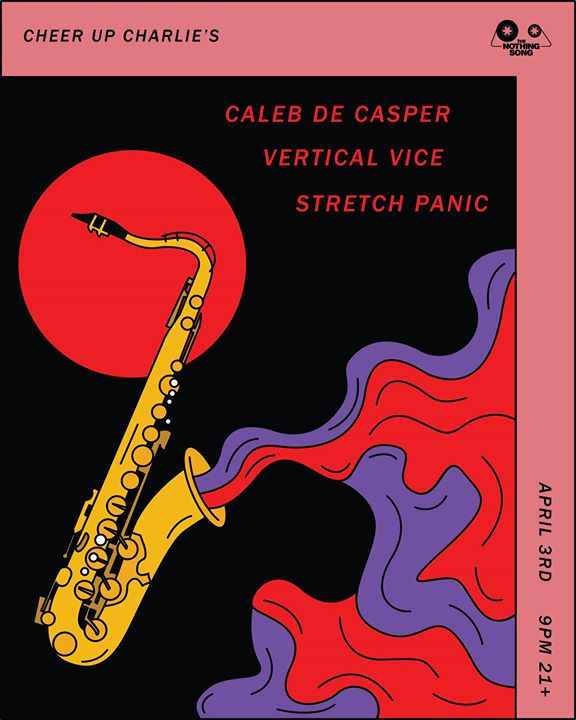 Caleb De Casper  Vertical Vice  Stretch Panic