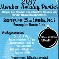 Timmins Chamber Member Holiday Party (2)