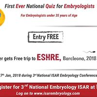 Qualifiers for National Embryology ISAR Quiz