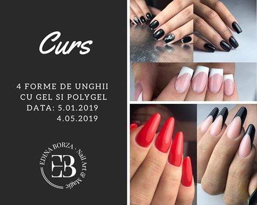 Curs Baza 4 Forme Gel Si Polygel At Edina Borza Nails Magic Cluj