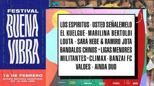Festival Buena Vibra - 2019