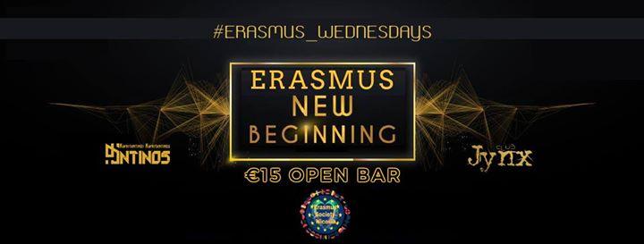 Erasmus New Beginning (Open Bar)