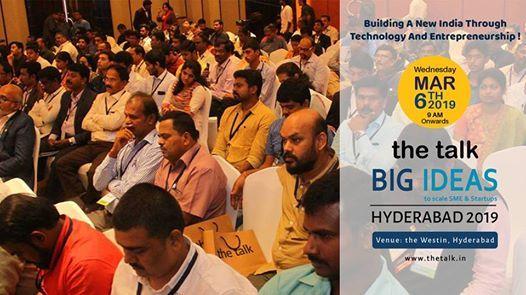 The Talk Big Ideas - Hyderabad 2019