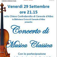 Conerto di Musica Classica