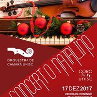Concerto Natalino - Orquestra e Coro da Unisc