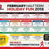 Exeter February half term
