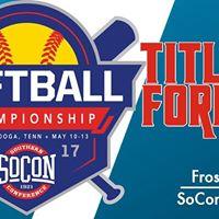 2017 SoCon Softball Championship