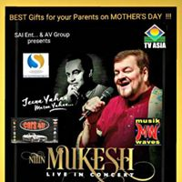 Nitin Mukesh Live in Concert in New Jersey