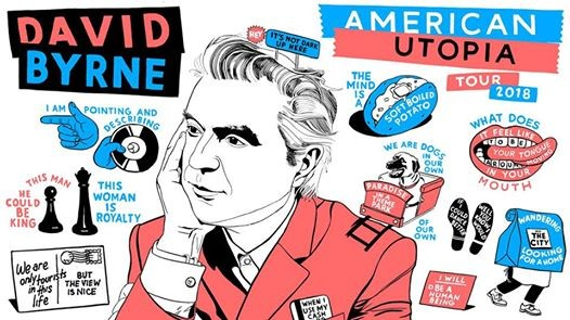David Byrne American Utopia World Tour