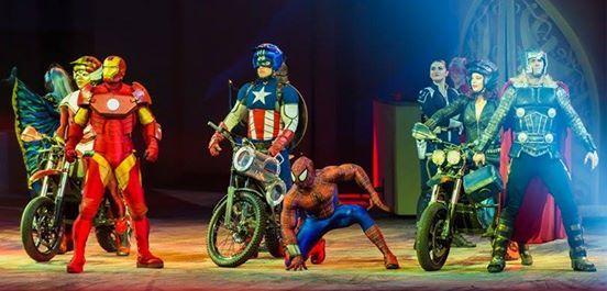 Marvel Universe Live At EagleBank Arena Fairfax VA