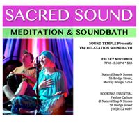 Relaxation Soundbath with Sound Temple