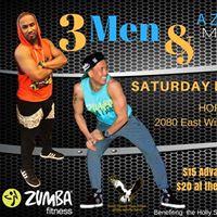 3 Men &amp a Zumba Fitness Master Class