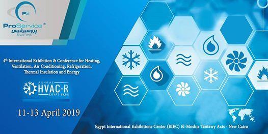 Ashrae HVAC - R Egypt Expo