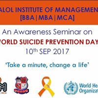 World Suicide Prevention Day-2017  An awareness Seminar