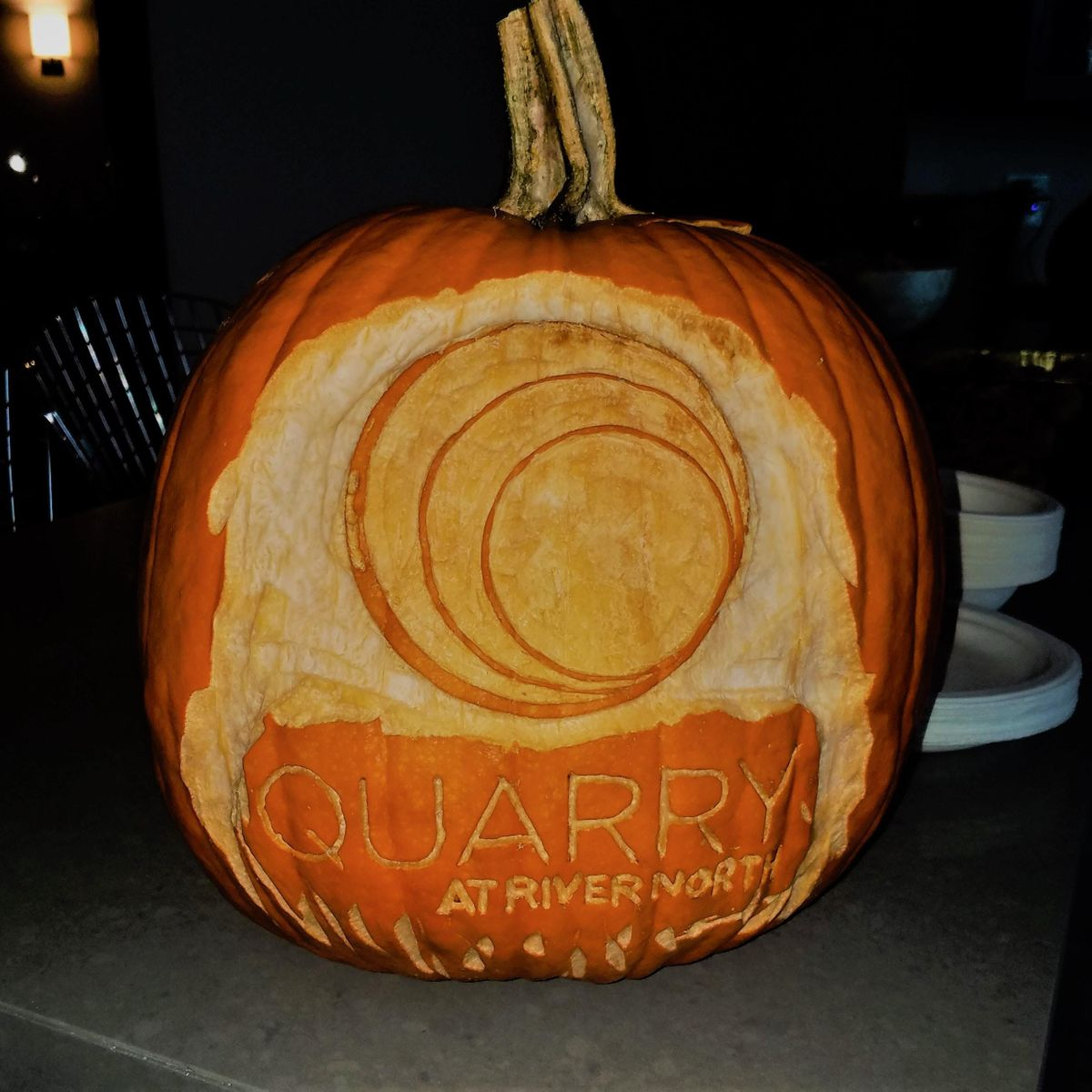 halloween party at quarry at river north, indianapolis