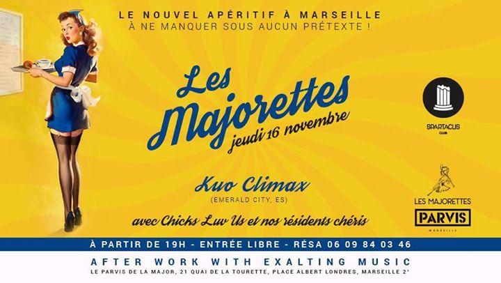 Les Majorettes le nouvel apro  Marseille