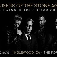 Queens of the Stone Age Concert at The Forum in Inglewood CA