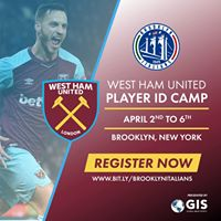 West Ham United Player ID Camp - Brooklyn NY