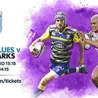 Cardiff Blues vs Sale Sharks