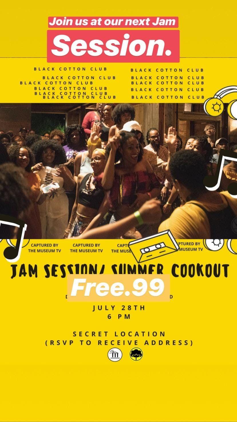 Summertime Jam Session Black Cotton Club