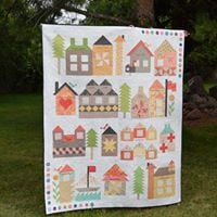 QUILT TO MAKE  &quot BE MY NEIGHBOUR&quot