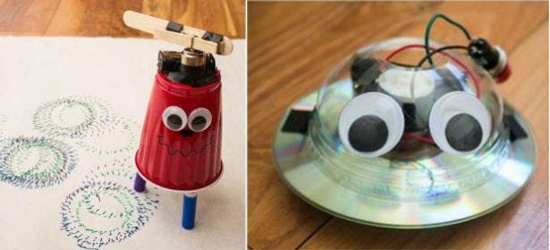on sale 9d36e 74f8e Gold Coast STEM Challenge  Create a Wobblebot and a Wigglebot (Bright Minds  Years 3-5)