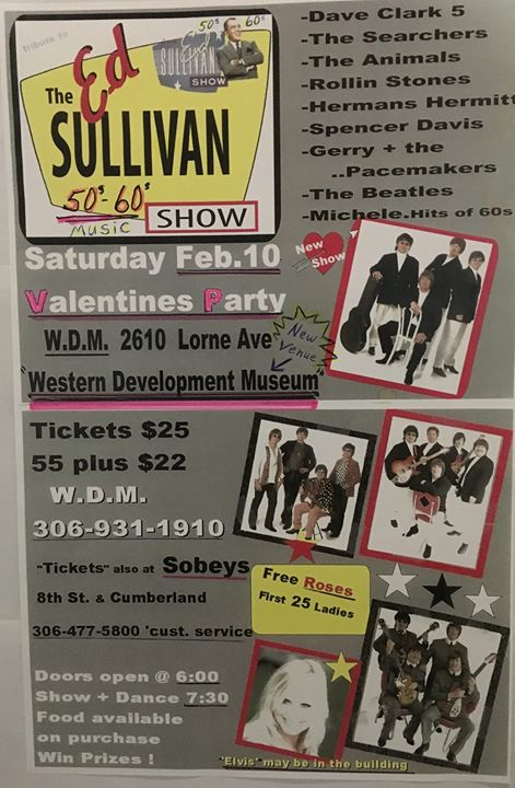 Eric Burdon Ed Sullivan Show And Dance Valentines Party Alleventsin Ed Sullivan Show And Dance Valentines Party At Western Development
