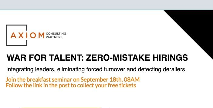 Axiom Europes Breakfast Seminars - Discover the Difference