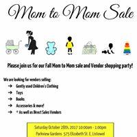Listowel Kinettes Fall Mom to Mom Sale