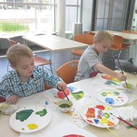 Kids Art Journaling Club at the Evansville Museum