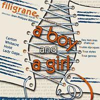 ensemble vocal filigrane a boy and a girl at eglise protestante saint pierre le vieux de. Black Bedroom Furniture Sets. Home Design Ideas
