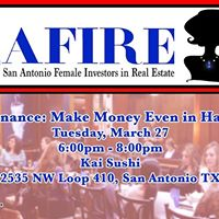 Safire - &quotOwner Finance Make Money Even in Hard Times&quot