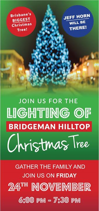 free lighting of christmas tree at bridgeman hilltop - Hilltop Christmas